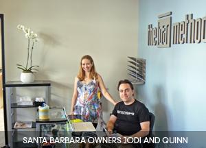 Santa Barbra Owners Jodi and Quinn