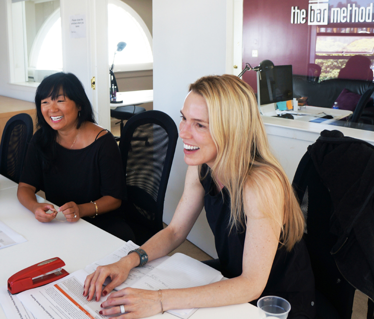 Jen and Sharon at meeting Aug 14 2015 edit