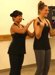 Jen's Class biceps