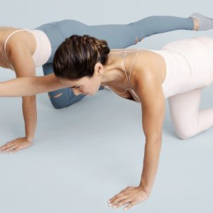 The Bar Method Lower Body Exercise